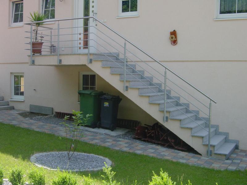 Treppen Gelander Handlaufe Grasser Metallbau